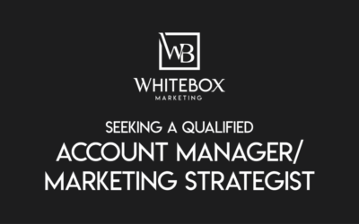 Job Opportunity: Account Manager/Marketing Strategist
