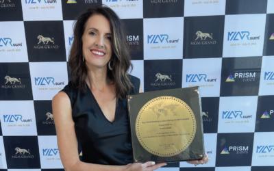 "Carrie Karki Honored With The ""Top 100 Marketing & Advertising Leaders"" Award At MARsum Las Vegas"